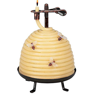 Thoughtful gifts beehive shaped candle