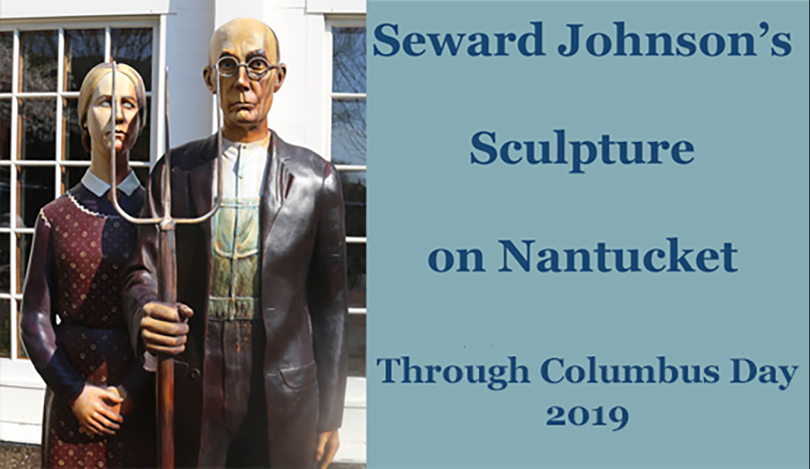 The Sculpture of Seward Johnson on Nantucket Island 2019