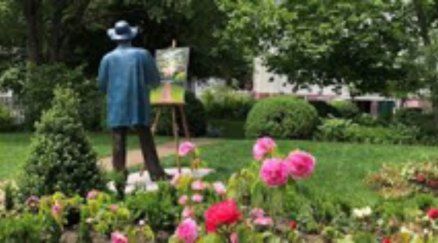Sculpture of Seward Johnson, Monet