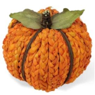 rattan pumpkin talbe decoration