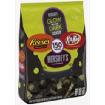 Glow in the dark Hersheys Halloween candy