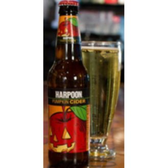 Harpoon Pumpkin Hard Cider