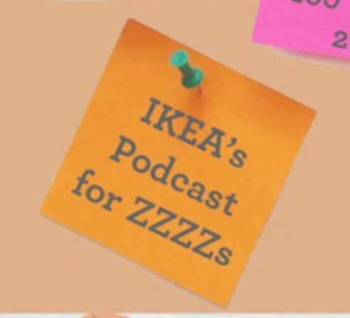 ikeas bedtime podcast for adults