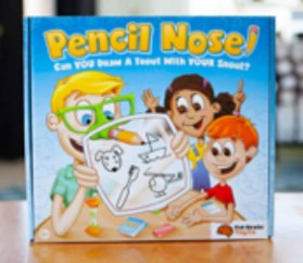 Pencil nose game gifts for kids 2019