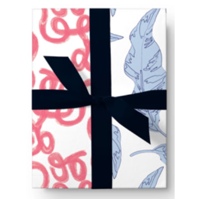 double sided creative gift wrap