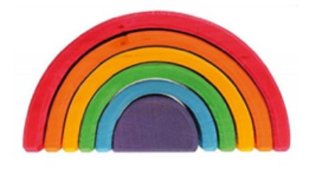 Rainbow Color nesting blocks for kids