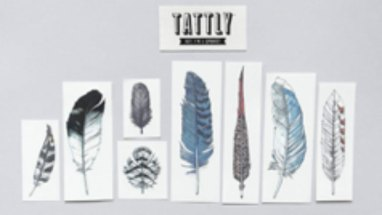 delicate design temporary tattoos