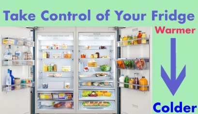 control of your refrigerator