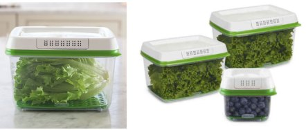 upgraded kitchen produce containers