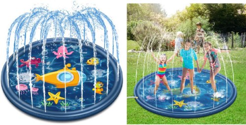 slip and slide fountains