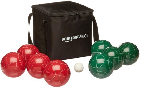 Boules and bocce balls