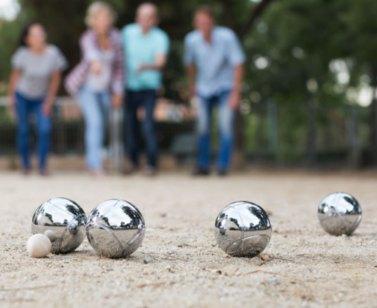 Boules ball set