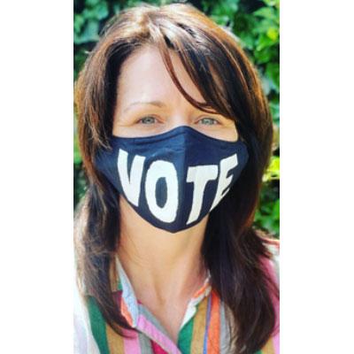 the vote mask