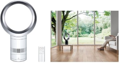dyson fan to reduce technology clutter