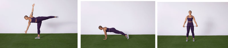 lady doing muscle activation stretching