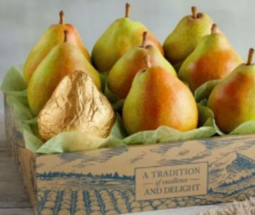 Pears from Harry and David