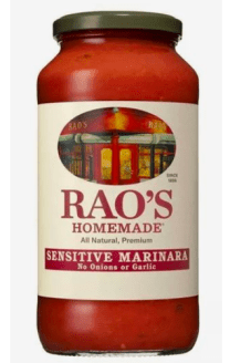 Friday Bulletin Rao's Home Made Marinara