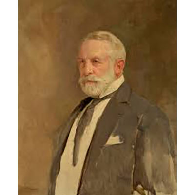 Gerald Kelly, 1924.Portrait of Henry Clay Frick
