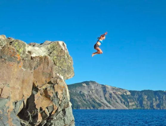 Wild Swim and Cliff Jumping