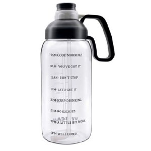 64 oz motivational water bottle