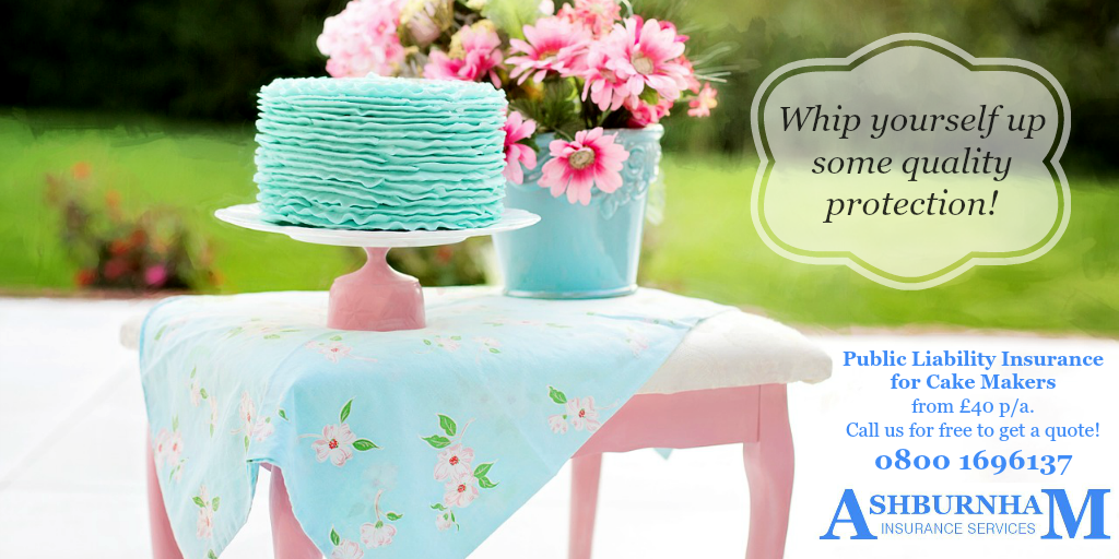 Public Liability Insurance for Cake Makers and Decorators