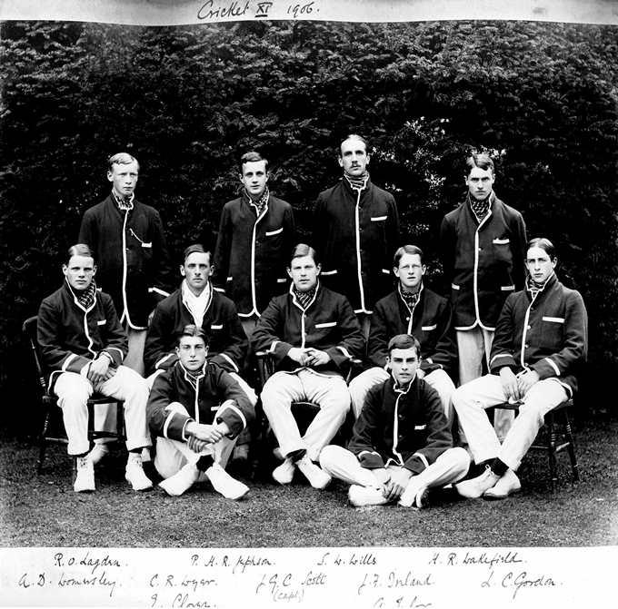 Tylor 1906 Cricket_Team_XI