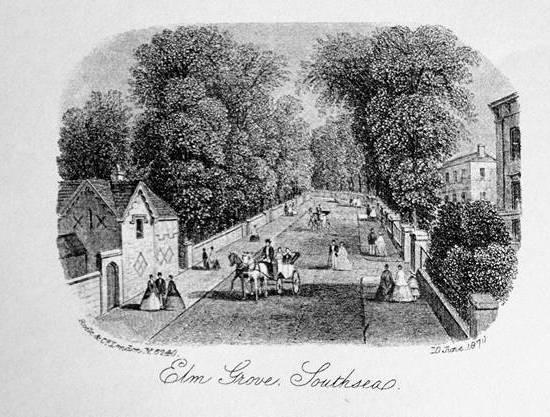 Elm Grove Southsea 1870