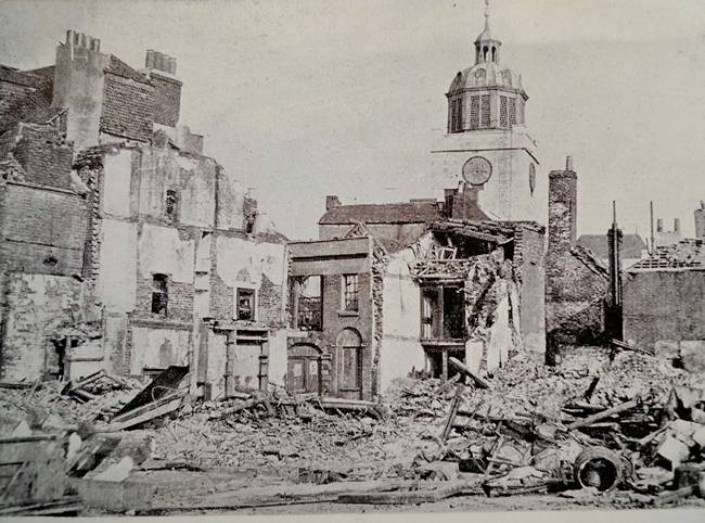 Oyster Street, Old Portsmouth April 1941