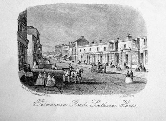 Palmerston Road Southsea 1870