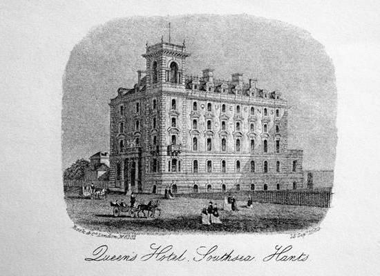 Queens Hotel Southsea 1869
