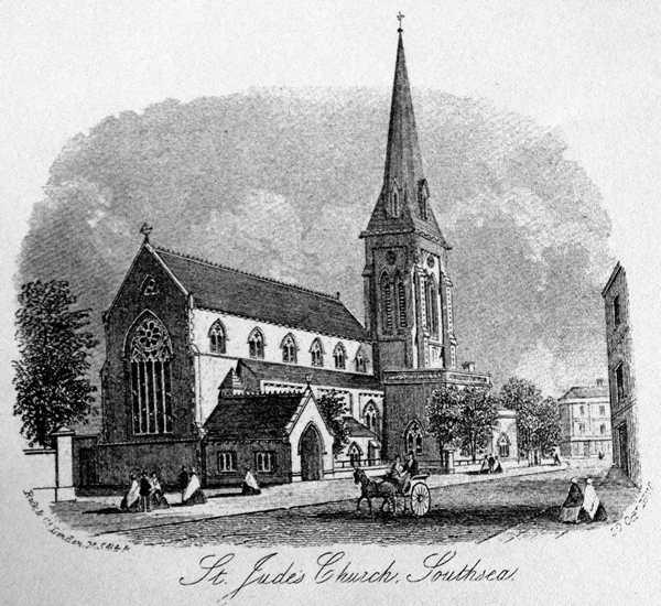 St Judes Church Southsea 1800s