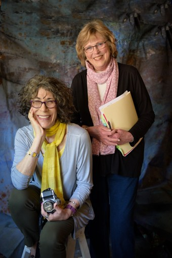 Portrait of Nancy Rubin and Cynthia Blix