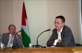 Drapeau palestinien au consulat