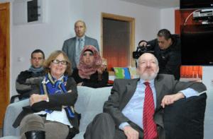Le Consul Général de France en visite à « l'université » d' »Al Quods »