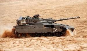 Tank Merkava 1 – Intégré dans Tsahal en 1979