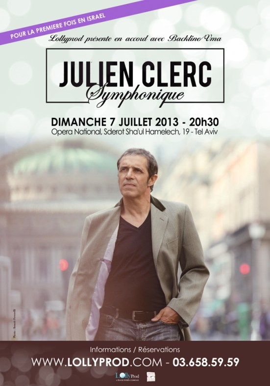 julien clerc Lollyprod