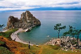 Soucchot sur les bords du lac Baïkal