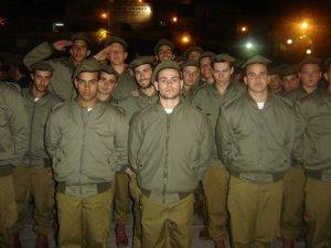 Soldats prêtant serment à Tsahal