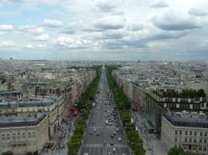 les Champs-Elysées à Paris