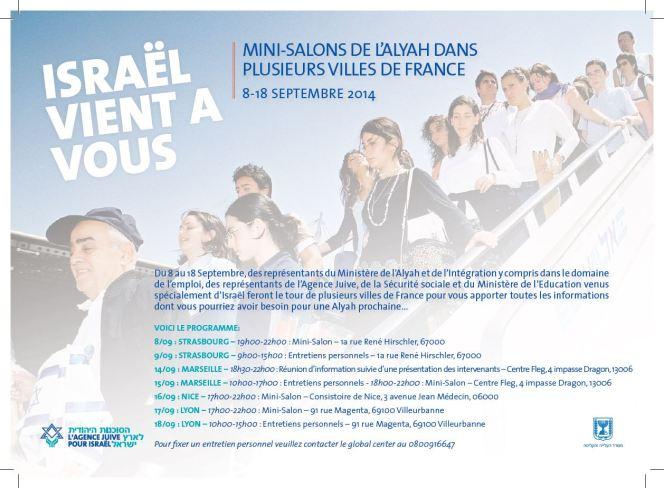 mini salons france 8 au 18- 09-2014