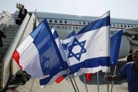 drapeau france israel