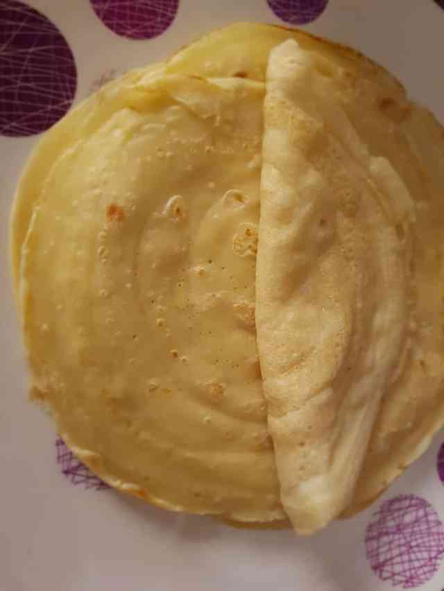 how to make pancakes with water