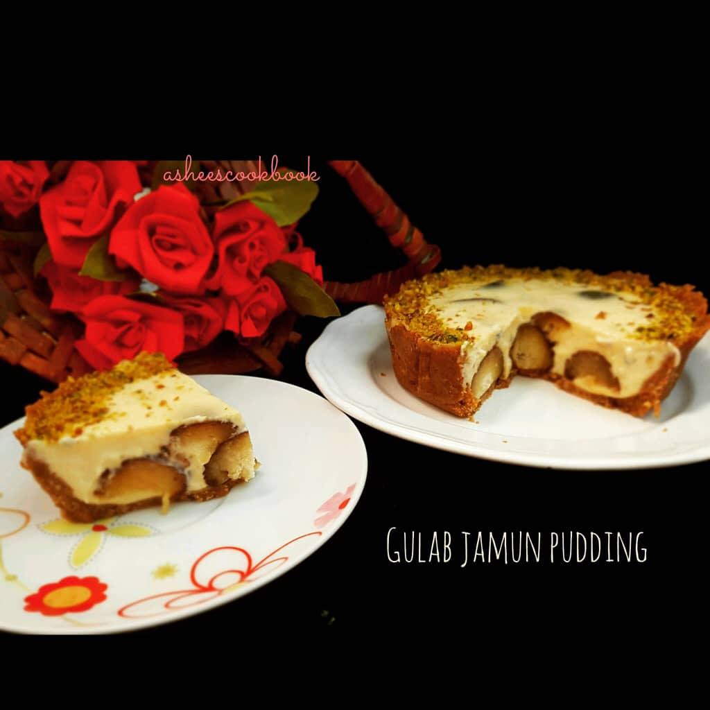Gulab Jamun pudding