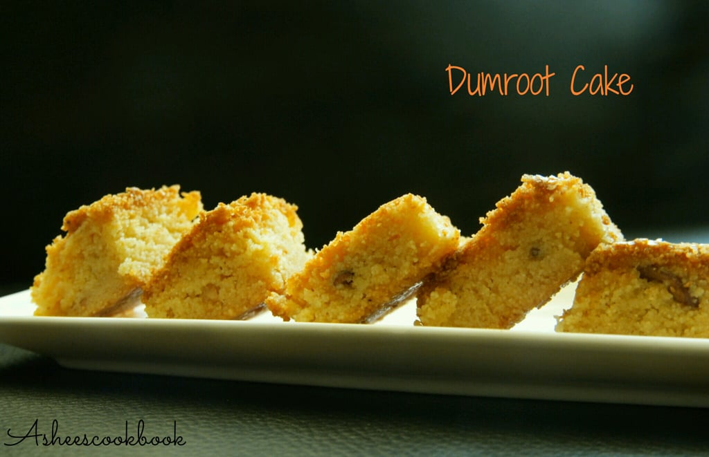 Dumroot cake