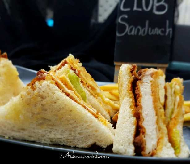 Zinger Club Sandwich Recipe Ashees Cookbook
