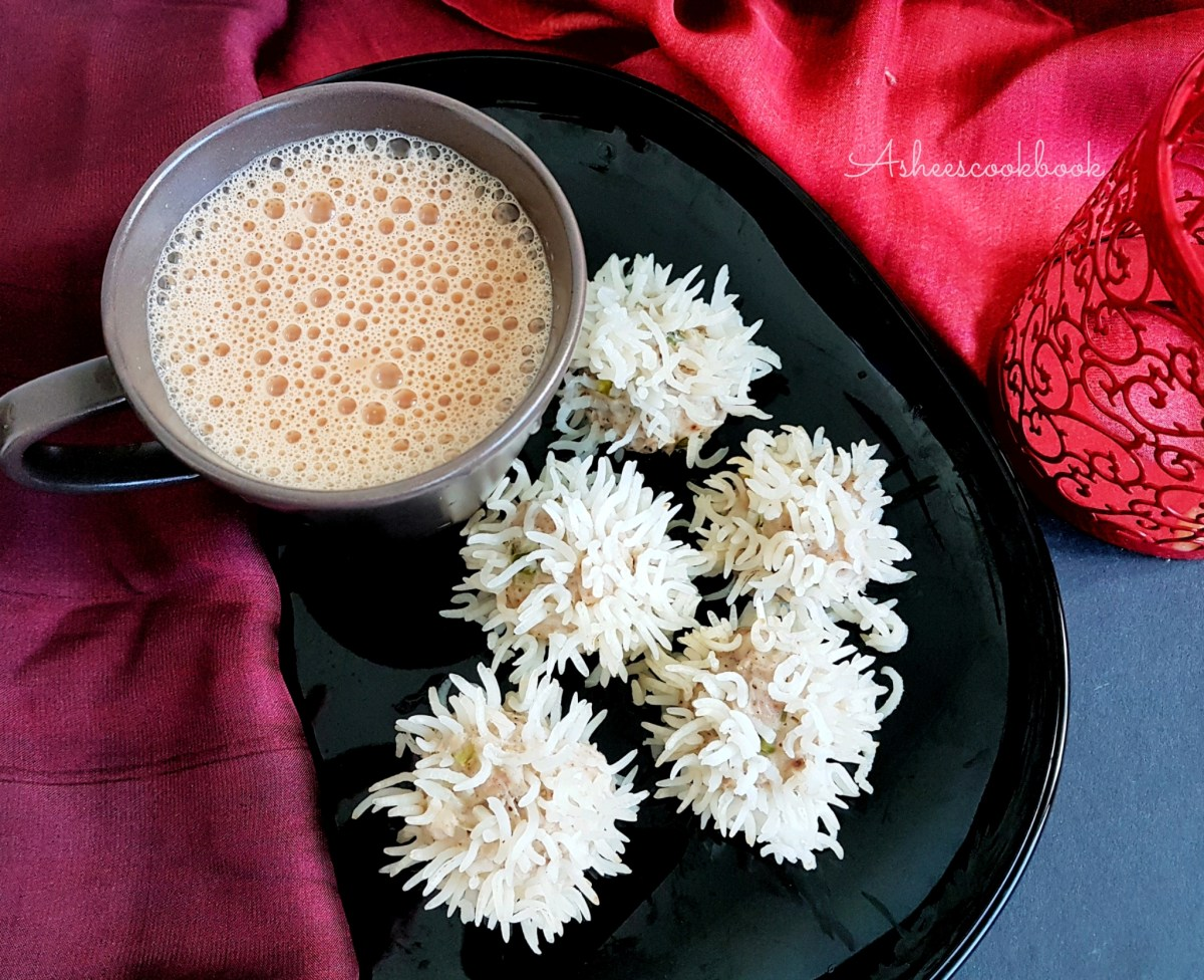Murg ke Phool ~ Steamed Chicken Flower