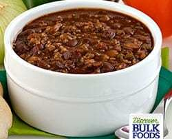 natural chili soup
