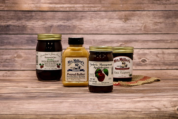Bulk Foods Jams and Jellies Holmes County Ohio