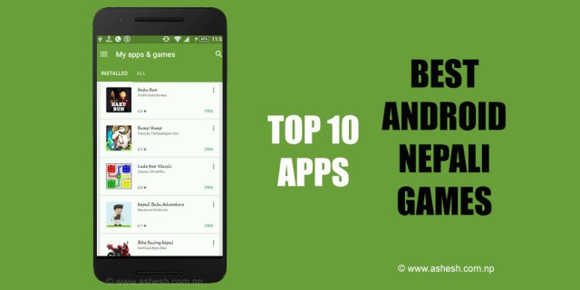 Top 10 Best Android Nepali Games