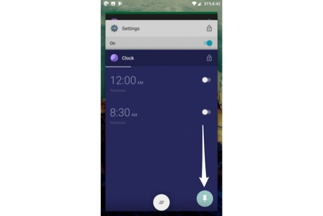 Disable touch in Android samsung galaxy